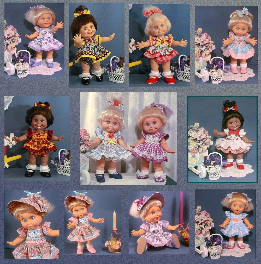 Prillycharmin Dolls Baby Face Dresses Amp Accessories Sewing Pattern