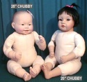 Pattern-J Cloth Doll Body Sewing Pattern, Jointed Limbs